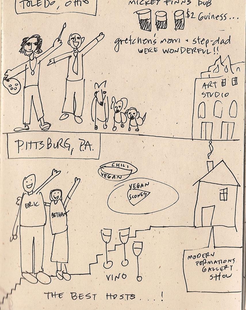 Tour Doodle: Toledo 2007