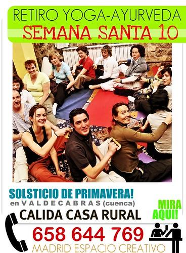 Retiro YOGA SEMANA SANTA 2010, con Madrid ESPACIO CREATIVO,