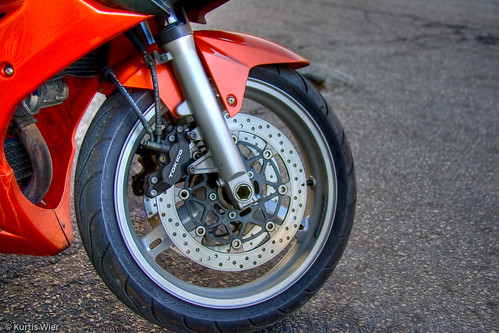 Motorcycle Wheel HDR