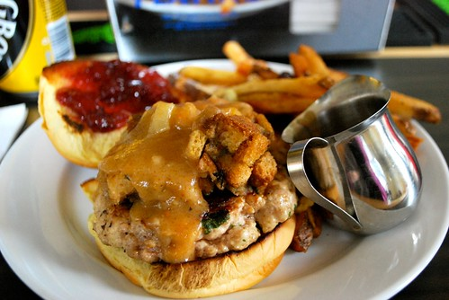 PYT Thanksgiving turkey burger
