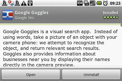 HT-03A:Google Gogglesを試した