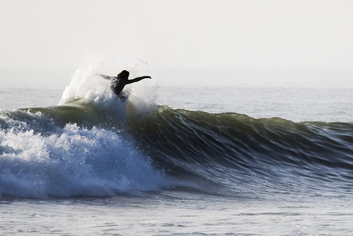Giancarlos ripping it up on the surf at Huanchaco, Peru.
