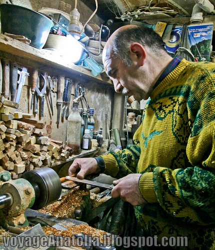 Woodworking at Amasra