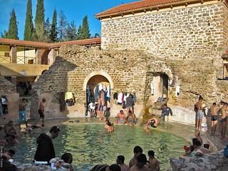 La piscine circulaire Aquae Flavianae Khenchela