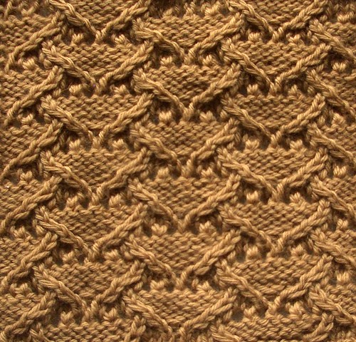 Treasury Of Knitting Patterns : 09. Cable-Stitch Patterns (2nd) The Walker Treasury Project