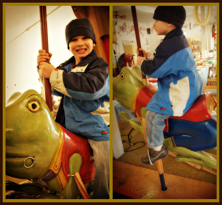 Luke On Frog