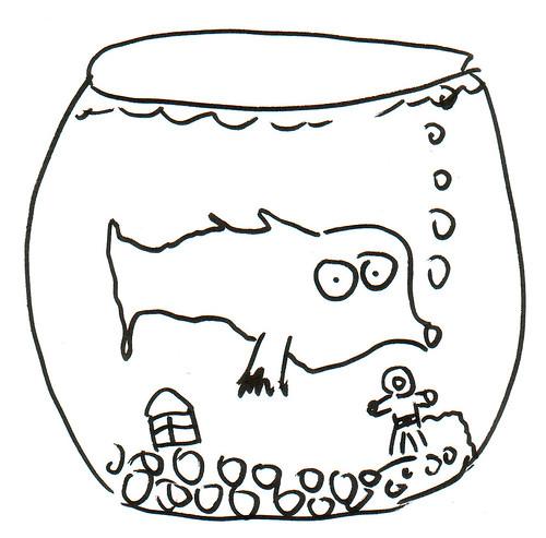 366 Cartoons - 312 - Fish Bowl