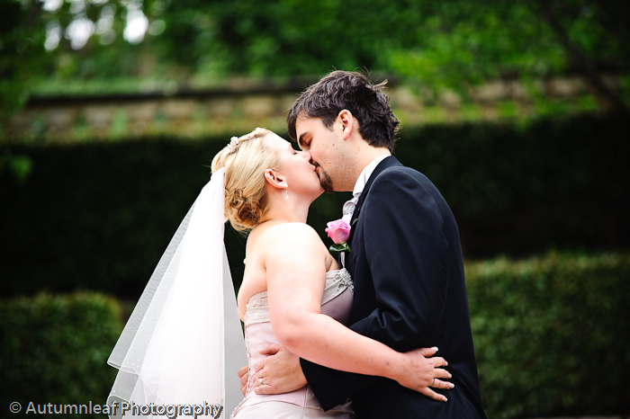 Prue & Paul's Wedding - You May kiss the bride (by Autumnleaf Photography)
