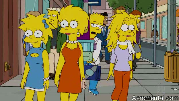 The Simpsons S21E08: Bart's third sister could be really pretty