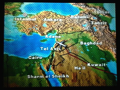 Steering Clear of Iraqi Airspace