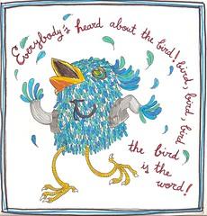 bird dancing dancer pajaro oiseaux bailar surfinbird thetrashmen