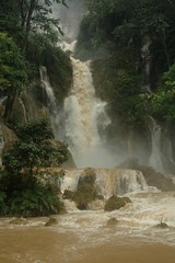 Luang Prabang (Ziemek T) Tags: jungle laos luangprabang watefall