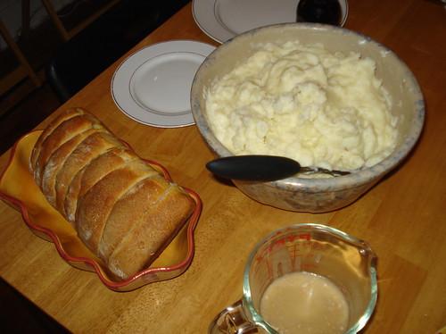 BreadPotatoesGravy