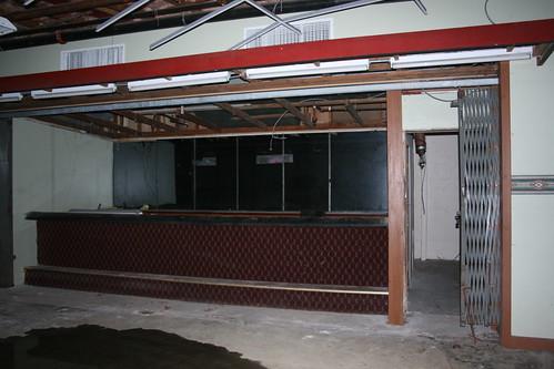 The bar near the lobby