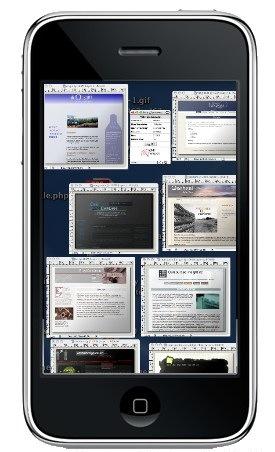 iPhone Exposé 1