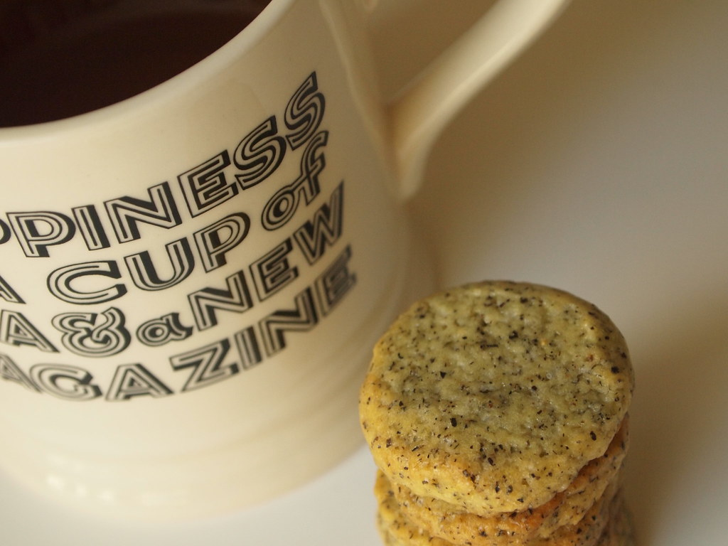Sticky Penguin's Earl Grey tea cookies