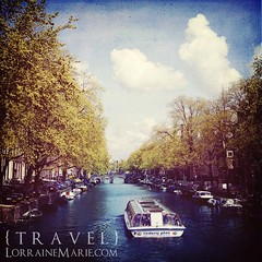 River Boat Cruise on an Amsterdam Canal (Lorraine Marie Varela) Tags: holland netherlands amsterdam springday riverboatcruise singelcanal amsterdamcanal herengrachtcanal