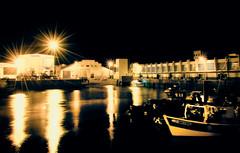 Horror Harbor (Vergio Graffito) Tags: light sea mer night port de harbor boat reflet reflect horror bateau pche