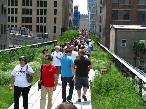 Don't visit the High Line in the middle of the day like I did. Go early or late, I think.