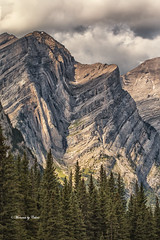 Anticline-Syncline! Explore #79  02-13-2017 (Canon Queen Rocks (1,260,000 + views)) Tags: clouds colours canada mountains mothernature trees rockies alberta kananaskis mountain outdoor