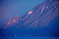 Colors (oobwoodman) Tags: light sunset mountains alps alpes schweiz switzerland suisse lumière rhône lausanne berge alpen powerstation lavaux grandvaux vouvry chavalon