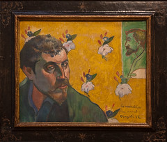 Van Gogh Museum - Paul Gauguin - Self-portrait...