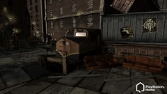 PS Home - inFamous Abandoned Docks space, 2