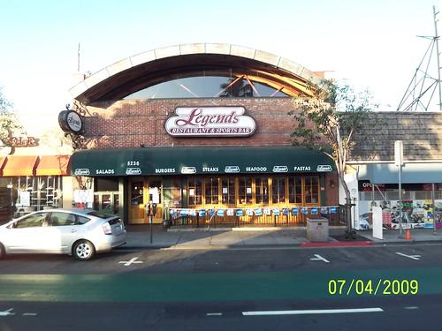 Legends Sports Bar - Long Beach CA Dinning