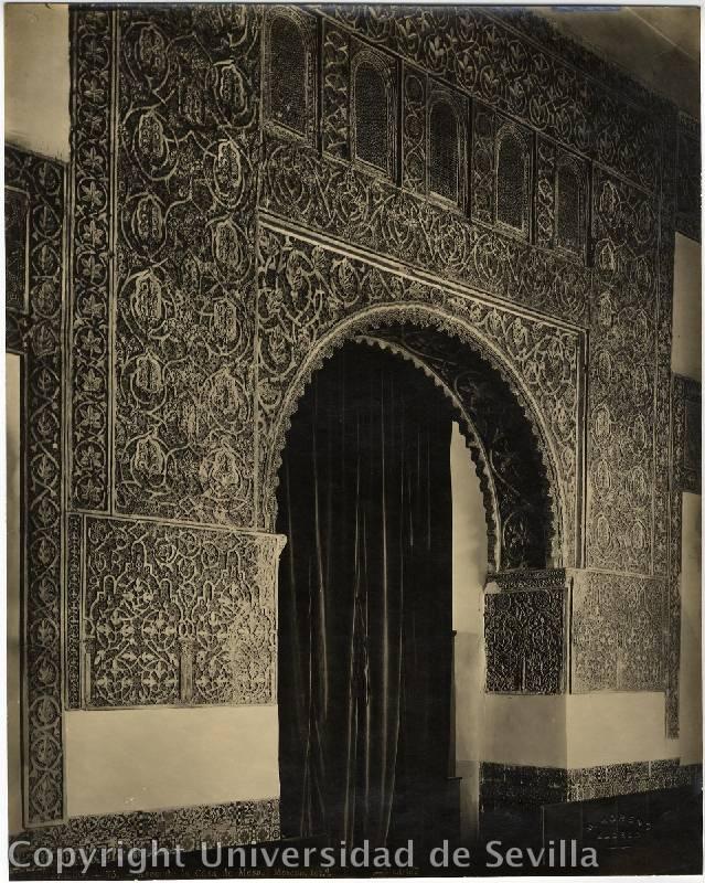 Salón de Mesa a principios del siglo XX. Fototeca de la Universidad de Sevilla. Foto M. Moreno