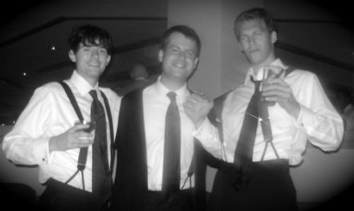 With the two founders of Cubicle GM for J. Prices wedding