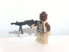 sgt. griggs (kenneth nielsen a.k.a Qenhyt) Tags: mod call paint lego duty 4 ba griggs sgt of brickarms cod4