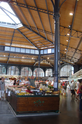 Marché Couvert (covered market) in Albi, France