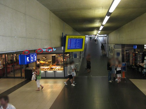 Videokameras Bahnhof Fribourg