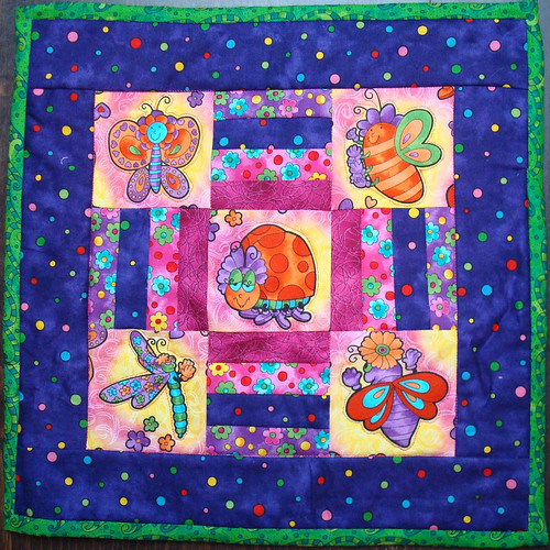 STUD May angel quilt