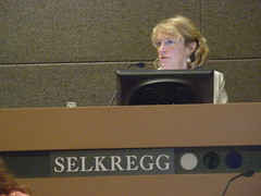 Sheila Selkregg at the July 7 Assembly meeting - voted yes on AO 64