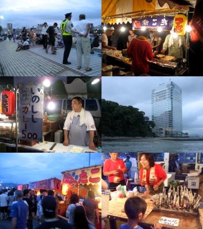 広島・宇品の花火大会 2009