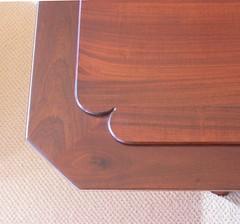 Mahogany Table Detail
