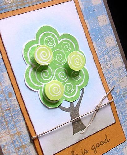 Treetops close-up