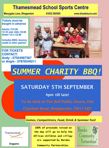 Thamesmead School Summer Charity BBQ