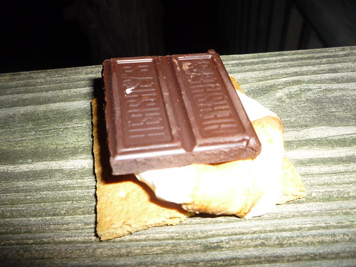 s'more with  dark Herseys