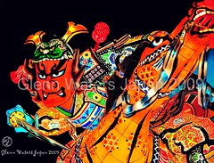 Samurai & Horse. Neputa Festival Japan. © Glenn E Waters. Over  32,000 views to this photo. (Glenn Waters ぐれんin Japan.) Tags: horse color colour japan nikon vivid explore sword samurai katana japon 190 青森 bushi 馬 夜 刀 侍 祭り 五所川原 8514 武士 日本刀 explored ニコン ねぶた nikkor85mmf14d nikkor85mm14d ねぷた d700 nikond700 ぐれん glennwaters