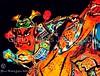 Samurai & Horse. Neputa Festival Japan. © Glenn E Waters. Over  29,000 views to this photo. (Glenn Waters ぐれんin Japan.) Tags: horse color colour japan nikon vivid explore sword samurai katana japon 190 青森 bushi 馬 夜 刀 侍 祭り 五所川原 8514 武士 日本刀 explored ニコン ねぶた nikkor85mmf14d nikkor85mm14d ねぷた d700 nikond700 ぐれん glennwaters