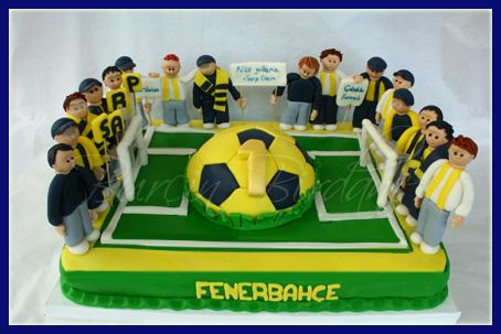 Fenerbahçeli Taraftar Pastası
