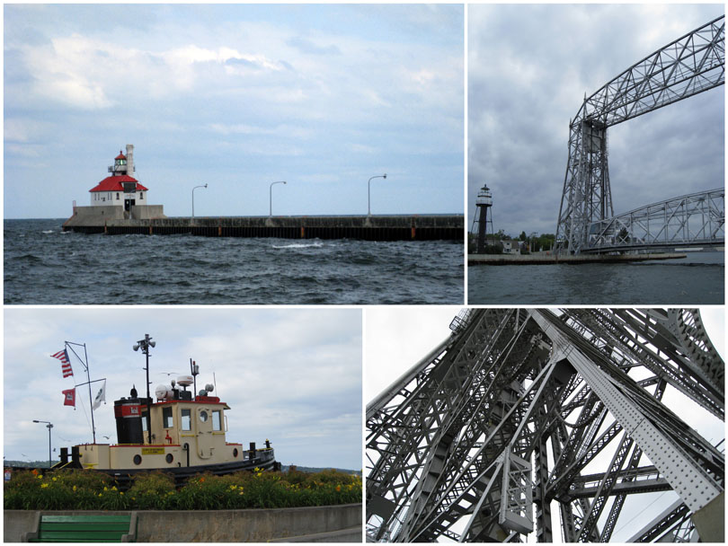 The Duluth Harbor