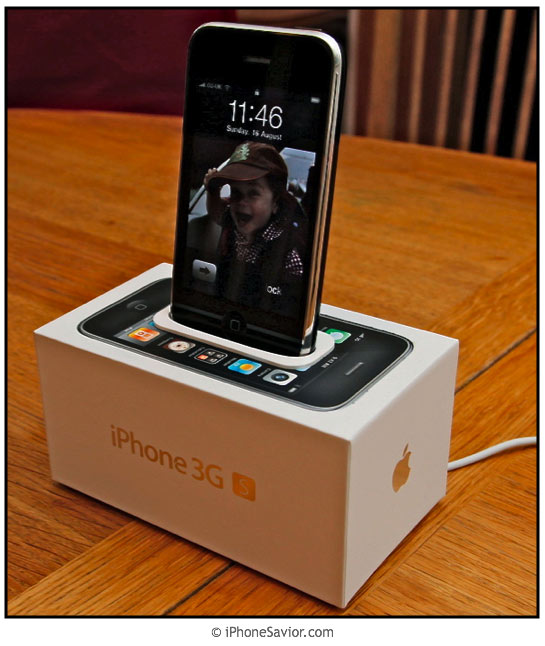 (DIY) iPhone 3GS Box Dock