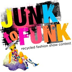 Junk to Funk Recycled Fashion Show Contest logo