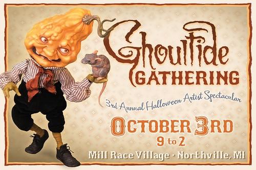Ghoultide Gathering Postcard 2009