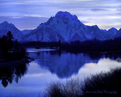 WAITING FOR THE STARS (Aspenbreeze) Tags: travel blue sky mountain snow reflection nature water geotagged searchthebest bluehour tetons ourdoors grandtetonnationalpark oxbowbend artofimages saariysqualitypictures bestcapturesaoi coth5 aspenbreeze bestofblinkwinners