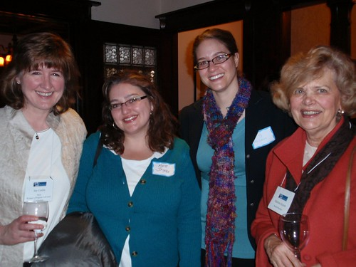 Host Jan Conlin, Kate Jaycox, Kelly McLain, and The Advocates' Board Member Marlene Kayser