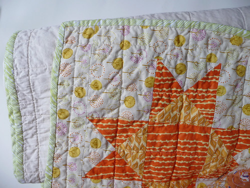 A Little Close-Up of the Summer Wedding Quilt